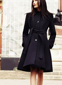 Black coat by Max | Fall12