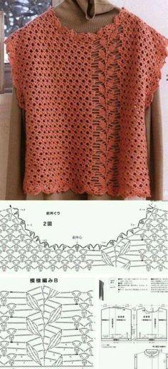 Source by Coat T-shirt Au Crochet, Crochet Bolero, Cardigan Au Crochet, Pull Crochet, Gilet Crochet, Crochet Jacket, Crochet Woman, Crochet Cardigan, Crochet Stitches