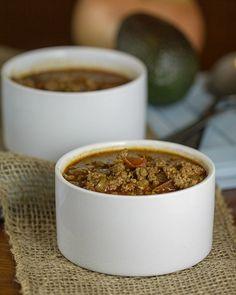 Easy Paleo Chili Recipe - This Gal Cooks #paleo #lowcarb #chili