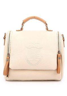 Nicee Tm Fashion Vintage New Shoulder Bags Hobo Uk Crown Pu Leather Handbag Women S Messenger Bag Lady Tote Beige