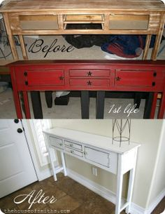 This blog post has the BEST tips for spray painting furniture without bubbles or drips.