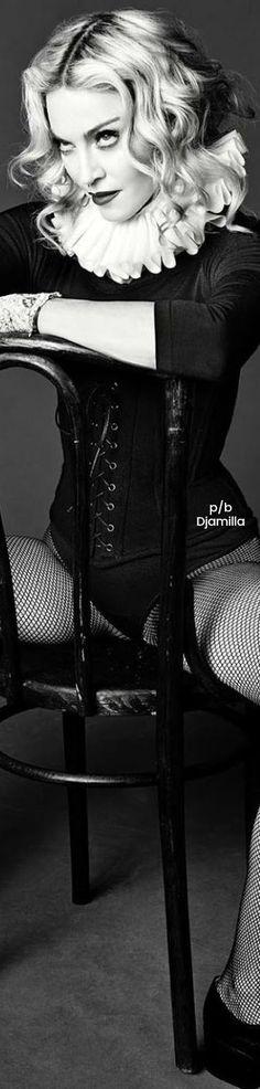 Madonna – Photoshoot for L'Uomo Vogue Magazine Italy