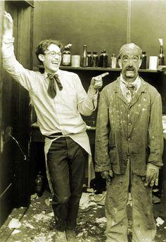 Harold Lloyd & Snub Pollard
