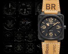 Bell & Ross Aviation Br 01-92 Heritage