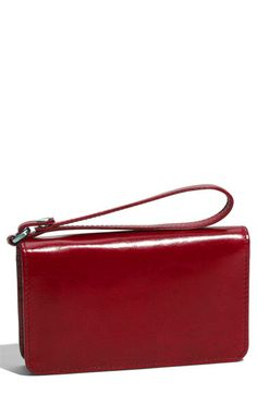 Hobo International 'Ally Vintage' Leather Wristlet $78