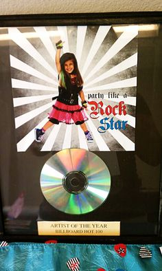 "Photo 1 of 21: Rock Star Birthday / Birthday ""Party Like a Rock Star"" 