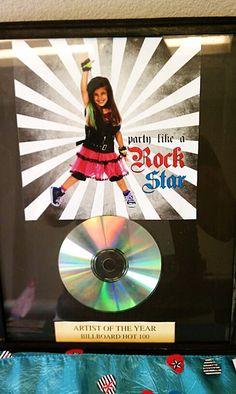 "Photo 1 of 21: Rock Star Birthday / Birthday ""Party Like a Rock Star"" | Catch My Party"