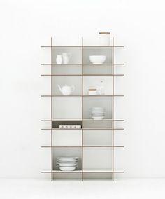 Tact shelving unit by Artefact Copenhagen