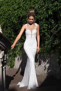 Sharon by Ida Torez. Part of the Pollardi Fashion Group. Exclusive to Si...Bridal http://www.sibridal.com/  #sibridal #weddingdress #bridal #bride #newcastle