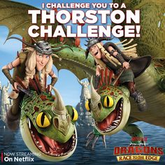 """The muttonheads are settling this sibling rivalry the Thorston way. Find out who wins this challenge in """"When Darkness Falls"""", now streaming on Netflix."""