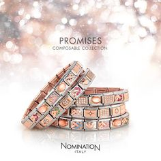 Composable Collection | Nomination Italy #composable #bracelet #rosegold