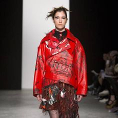 See all the Collection photos from Westminster University Autumn/Winter 2015 Ready-To-Wear now on British Vogue Fall Winter, Autumn, Westminster, Ready To Wear, Kimono Top, Vogue, How To Wear, University, British