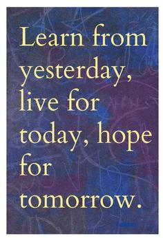 Learn ,Live ,Hope..