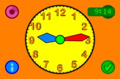 Tick Tock Clock - Move the clock to set the time
