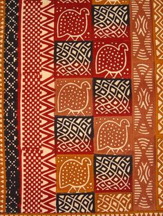 Kudhinda Wall Hanging - Natural Guinea Fowl  $98.00. This wonderfully authentic hand potato stamped African wall hanging makes a gorgeous addition to any home. Featuring a traditional guinea fowl pattern in warm earth tones, it is made from 100% Zimbabwean cotton. Each textile is a labor of love, with up to 950 block prints per square meter.