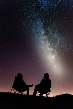 Chilling in the Night and looking to the Stars / Milky Way | Location: Schafmatt, Oltingen, Basel-Country, Switzerland