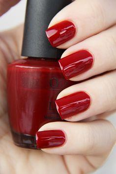 Nails by Catharina: OPI St. Opi Nail Colors, Toe Nail Color, Pretty Nail Colors, Pretty Nails, Cute Nail Polish, Cute Nail Art, Cute Nails, Opi Polish, Nails Gelish