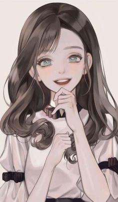 明 春 - kai fine art anime girls в 2019 г. anime art, anime art girl и bea Cool Anime Girl, Pretty Anime Girl, Beautiful Anime Girl, Kawaii Anime Girl, Chica Anime Manga, Art Anime, Anime Art Girl, Anime Chibi, Anime Girls