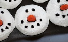 Juggling With Kids: Snowman Donuts
