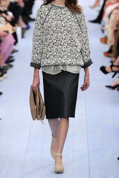 Chloé|Floral-brocade wool sweater|NET-A-PORTER.COM