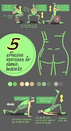 Top 8 Effective Exercise to Elastic Buttocks