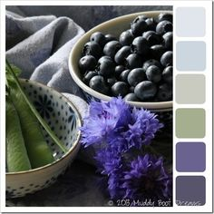 Summer color palettes that inspire my creativity