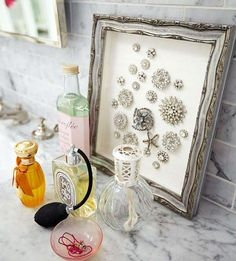 Un marco muy decorativo para tus broches