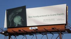 MSU College of Human Medicine billboard design by Extra Credit Projects.