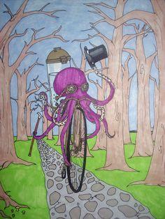 octopus by ~DoriansGallery on deviantART
