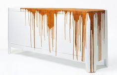 textured sideboard by dust deluxe