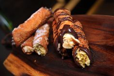 Start or end your day with a delicious homemade Cannoli at Va Bene Caffè, inside The Cosmopolitan.