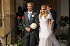Vogue Wedding - Iconic wedding dresses: Poppy Delevingne. Click on the image to see more.