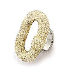 Atelier Swarovski by Juan Carlos Obando, Roxbury Ring, Shining Yellow
