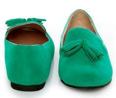 smoking slippers, slippers, loafers, tassel, shoe, sleep, pj, pajama, green