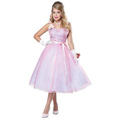 Adult 50s Angel Costume Medium ** Details can be found by clicking on the image.