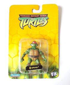 2003 Playmates Toys Tmnt Teenage Mutant Ninja Turtles Raphael Action Figure #PlaymatesToys