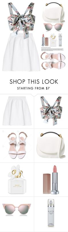 """""""Untitled #726"""" by jovana-p-com ❤ liked on Polyvore featuring malo, Zimmermann, Cynthia Rowley, Marc Jacobs, Maybelline, Fendi and Kenneth Cole"""