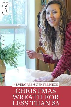 Learn how to make an old-fashioned evergreen wreath for your home this Christmas using natural elements in your yard with or without a wreath form. In true pioneer spirit, you can have beautiful, fresh Christmas decor all over your home for very little money (or even FREE!). Christmas Tree Lots, Christmas Swags, Christmas Diy, Homemade Ornaments, Homemade Christmas Gifts, Christmas Centerpieces, Christmas Decorations, Making An Old Fashioned, Wire Wreath Forms