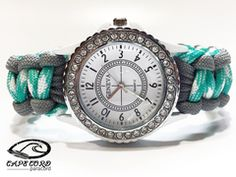 Womens White Paracord Watch