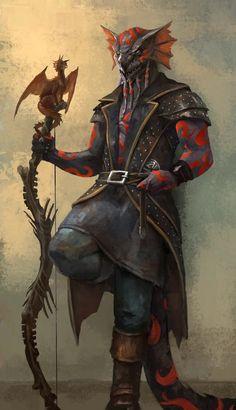 Black Dragonkin Sorcerer