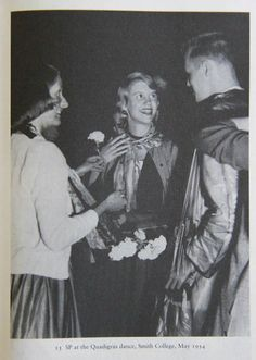 Sylvia Plath at the Quadigras dance, Smith College, May 1954 Career Quotes, Success Quotes, Ok Computer, Anne Sexton, Aqua Rose, Smith College, Self Improvement Quotes, Recovery Quotes, The Bell Jar