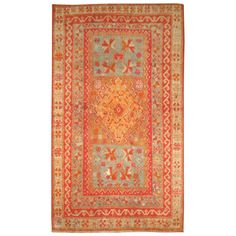 Antique Turkish Sivas Rug | From a unique collection of antique and modern turkish rugs at http://www.1stdibs.com/furniture/rugs-carpets/turkish-rugs/