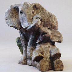 Embrace- A Bronze Sculpture by Eli Hopkins  7x8x8 Inches