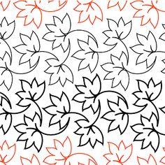 Fall Foliage -Simple leaf design