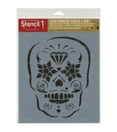 Creative possibilities are endless with the Stencil 1 Laser Stencil 8.5 x 11. This 8.5 x 11-inch plastic stencil features a lovely theme design and makes a great choice to use in your paper craft and