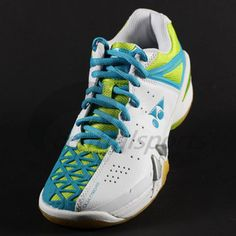 Yonex SHB01LX Ladies Badminton shoes (White/Lime) | Central Sports Badminton Shoes, Evolution Of Fashion, Formal Evening Dresses, Sport Wear, Sport Fashion, Snug Fit, Adidas Sneakers, Lime, Footwear