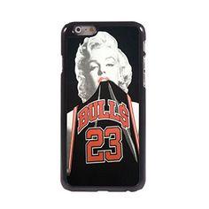 KARJECS iPhone 6 Case Cover Marilyn Monroe Bulls 23 Pattern Metal Hard Case Cover Skin for iPhone 6 KARJECS http://www.amazon.com/dp/B01417FDMM/ref=cm_sw_r_pi_dp_vIS1vb0FZHDCQ