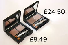 Sleek Brow Kit in Light vs Benefit Brow Zing in Light   14 Insanely Affordable High Street Dupes For High-End Makeup