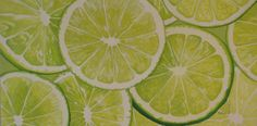 """""""Slice of Lime Green"""" 36""""x18"""" acrylic by Marlane Wurzbach. Can be hung horizontally or vertically. All rights reserved. www.marlanewurzbach.com"""