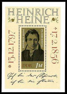 Heinrich Heine: http://www.deutsche-briefmarken-zeitung.de/2016/02/17/heinrich-heine-todestag/